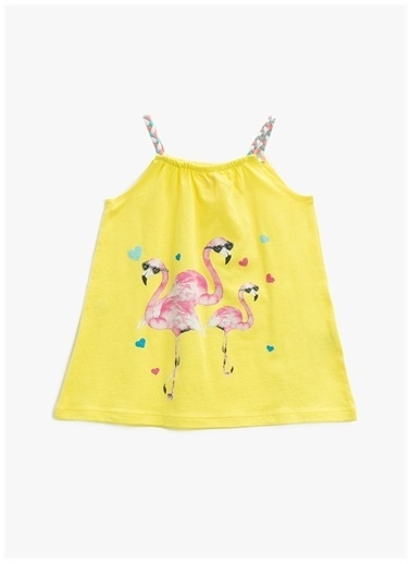 Koton Koton Elbise Sarı